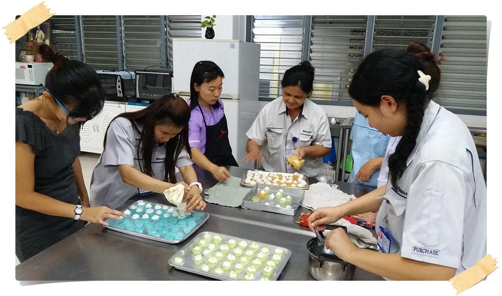 หลักสูตรระยะสั้นขนมไทย อาหารว่าง